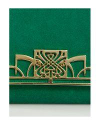 Biba Green Ruby Clutch Bag