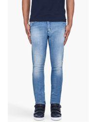 DIESEL | Blue Teppherne Jogg Jeans for Men | Lyst