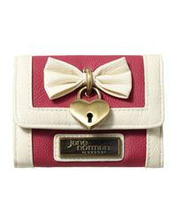 Jane Norman Pink Small Bow Heart Purse