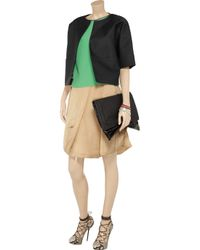 Marni Natural Satingauze Puffball Skirt