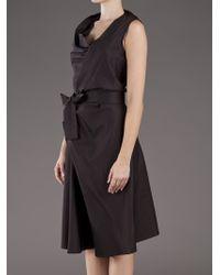 Vivienne Westwood Anglomania Black Apron Fish Dress