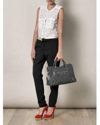 Balenciaga | Gray Giant City Bag | Lyst