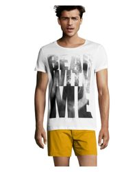 H&M Yellow Shorts for men