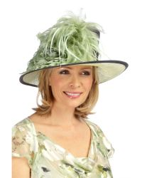 Jacques Vert Green Lasting Impressions Occasion Hat