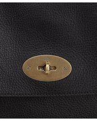Mulberry Black Leather Antony Messenger Bag for men