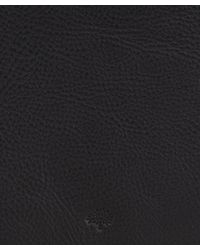 Mulberry Black Leather Ipad Sleeve for men