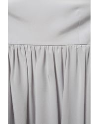TOPSHOP Gray Amish Pini Dress By Boutique