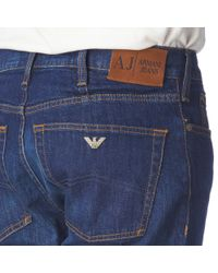 Armani Jeans Blue J31 Jeans for men