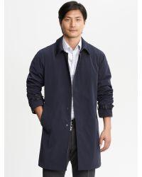 Banana Republic - Blue Navy Mac Jacket for Men - Lyst