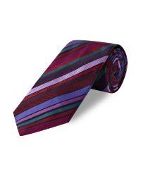 Duchamp Multicolor Phantom Stripe Tie for men