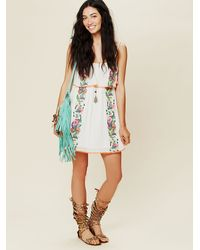 Free People - White Major Maxi - Lyst