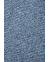 TOPSHOP Blue Denim Skater Skirt
