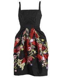 Zac Posen | Black Zac Posen Dress | Lyst