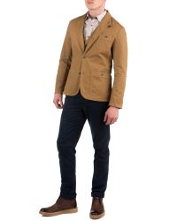 Ted Baker Brown Juzgar Casual Blazer for men