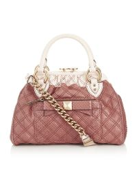 Marc Jacobs Pink Python Mini Stam Bag