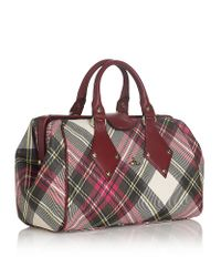 Vivienne Westwood Red Derby New Exhibition Bowling Bag