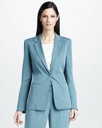 Elie Tahari Blue Wendy Jacket