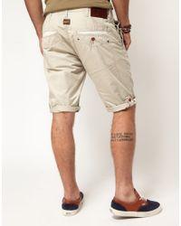 G-Star RAW Natural Correct Line New Bronson Chino Shorts for men