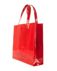 Ted Baker Red Ted Baker Ikon Great Britain Bag