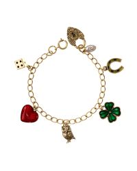Cath Kidston | Multicolor Lucky Charm Bracelet | Lyst