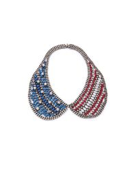 DANNIJO - Red Liberty Necklace - Lyst
