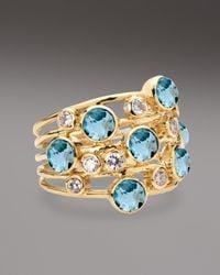 Ippolita Metallic Topaz Diamond Constellation Ring
