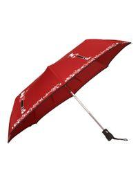 Boutique Moschino - Red Olivia Umbrella - Lyst