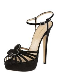 Charlotte Olympia - Black Jack Platform Sandals - Lyst