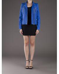 IRO | Blue Anabela Jacket | Lyst