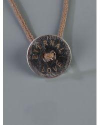 Vanrycke | Brown Eternal Love Necklace for Men | Lyst