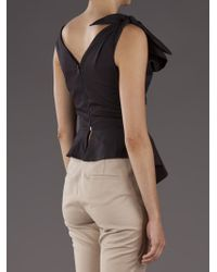 Vivienne Westwood Anglomania Black Better Knot Top