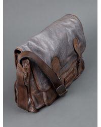 Numero 10 Gray San Diego Shoulder Bag for men