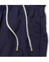 Vilebrequin Blue Okoa Longlength Swim Shorts for men