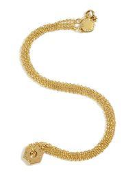 Marc By Marc Jacobs - Metallic Golden Tiny Bolt Necklace - Lyst