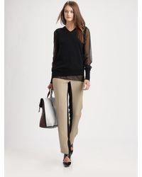 3.1 Phillip Lim | Natural Shadow Pencil Pants | Lyst