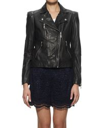 Whistles Black Ella Ponte Jersey Jacket