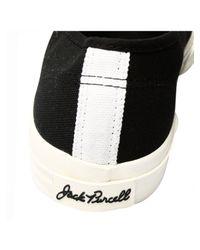 Comme des Garçons Play Jack Purcell Converse Black with Black Heart for men