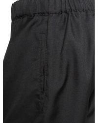 Comme des Garçons Drop Crotch Shorts Black