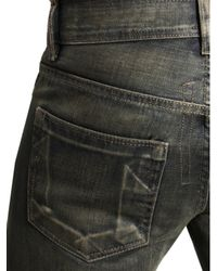DRKSHDW by Rick Owens Blue Drkshdw By Rick Owens Selvedge Jeans Dark Dust for men