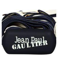 Jean Paul Gaultier | Beige Striped Folding Umbrella Creamnavy | Lyst