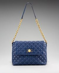Marc Jacobs | Blue The Single Quilted Bag, Extra Large | Lyst