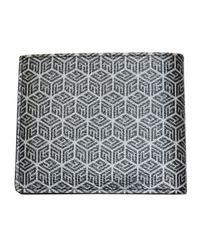 Balmain Gray Monogram Wallet Greyblack for men