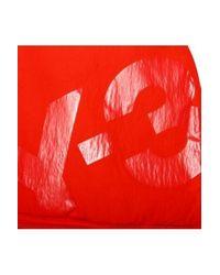 Y-3 Y3 Logo Backpack Lava Red for men