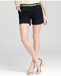 Ann Taylor Blue Denim Shorts