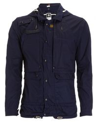 G-Star RAW Raw Stern Cotton Parka Jacket Blue for men