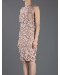 Emilio Pucci   Pink Pearl Lace Dress   Lyst