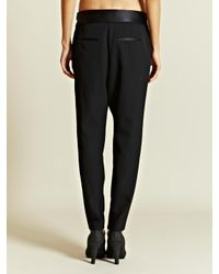 Givenchy Black Womens Pleated Pants
