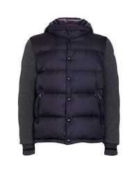 Moncler Blue Ghislain Jacket for men