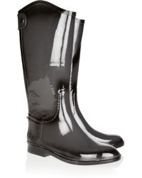 Dav Gray Distressed Equestrian Wellington Boots