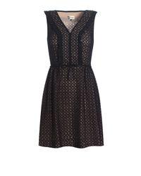 Boutique by Jaeger Brigitte Lace Dress Black